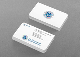 DHS CBP Business Card