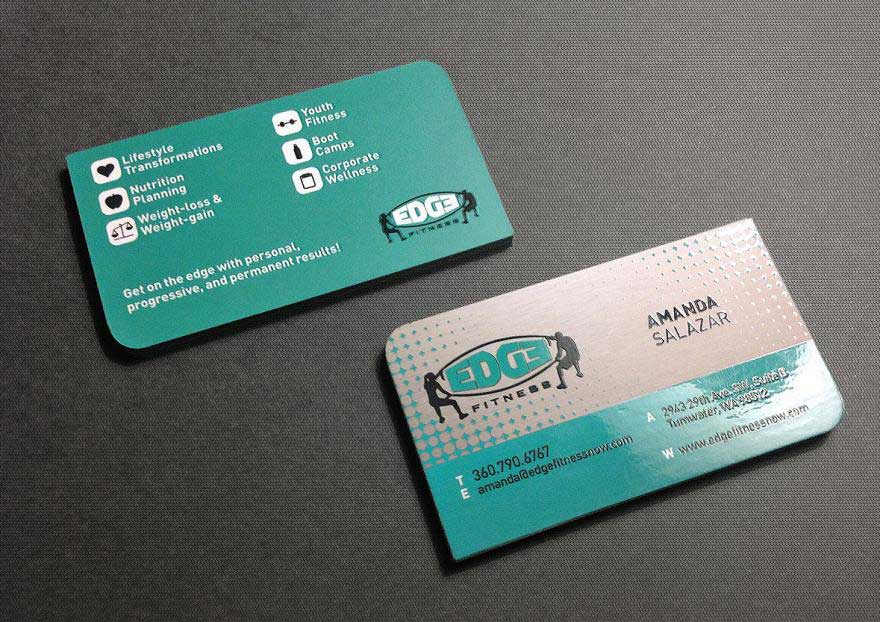 kraken design business card
