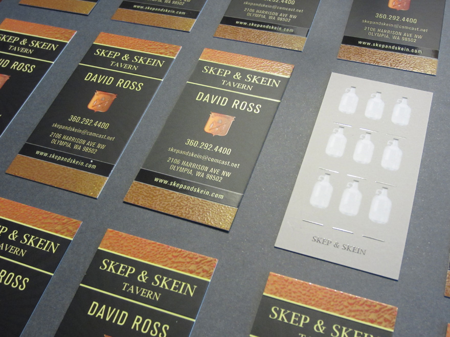 Skep & Skein Business Card