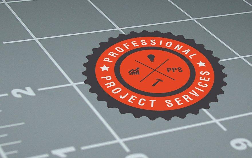 Professional Project Services Logo Design