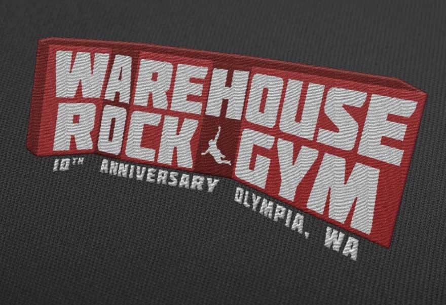 Warehouse Rock Gym Oly Logo