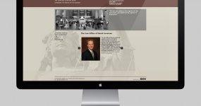 Law Office of David Lousteau Website Design