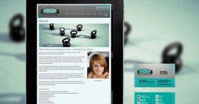 Edge Fitness Website & Business Card