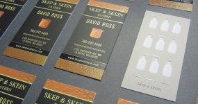 Skep & Skein Business Card